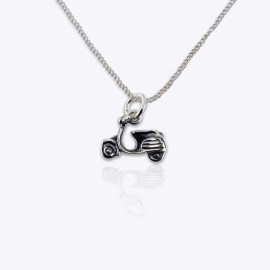 Necklace Pendant, scooter.