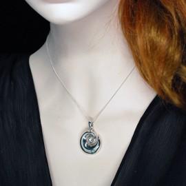 Necklace Pendant, Koru