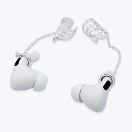 Minimalist unisex Airpod adjustable Earrings Ear cuffs Anti Loss with Silver Plated.