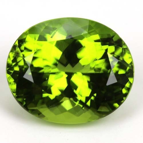 Authentic peridot