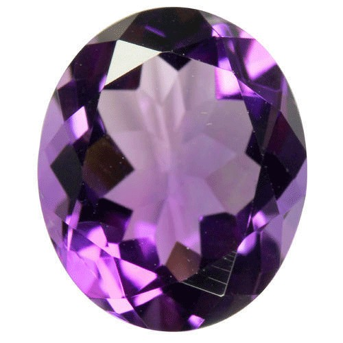 Authentic amethyst